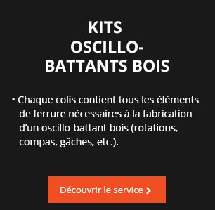 OSCILLO-BATTANTS BOIS